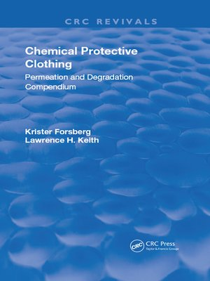 cover image of Chemical Protective Clothing