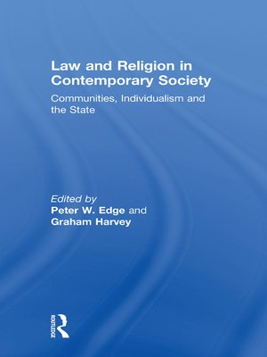cover image of Law and Religion in Contemporary Society