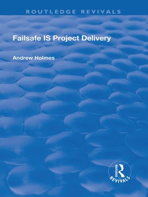 cover image of Failsafe IS Project Delivery
