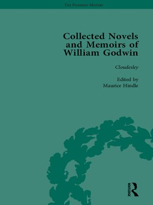 cover image of The Collected Novels and Memoirs of William Godwin Vol 7