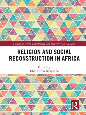 cover image of Religion and Social Reconstruction in Africa