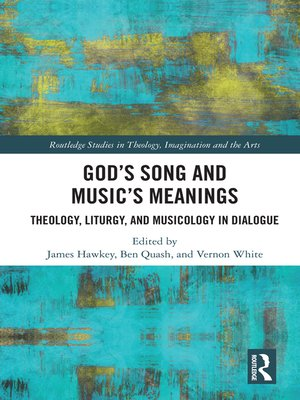 cover image of God's Song and Music's Meanings