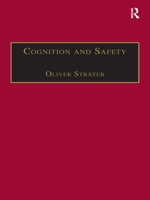 cover image of Cognition and Safety