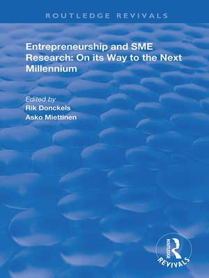 cover image of Entrepreneurship and SME Research