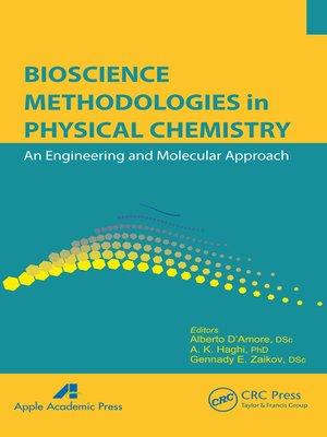 cover image of Bioscience Methodologies in Physical Chemistry
