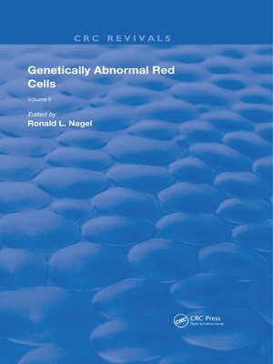 cover image of Genetically Abnormal Red Cells