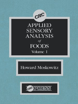 cover image of Applied Sensory Analy of Foods