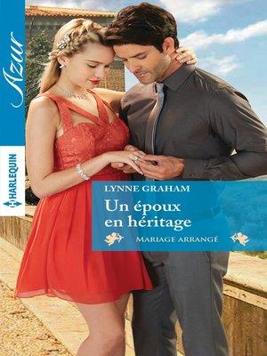 cover image of Un époux en héritage