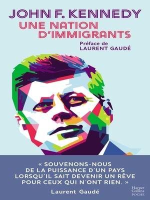 cover image of Une nation d'immigrants