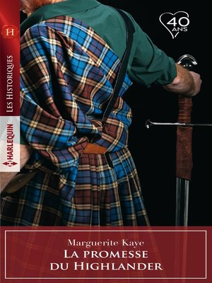 cover image of La promesse du Highlander