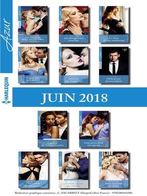 cover image of 11 romans Azur + 1 gratuit (n°3960 à 3970--Juin 2018)