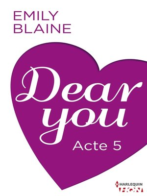 cover image of Dear You--Acte 5