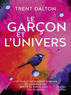 cover image of Le garçon et l'univers