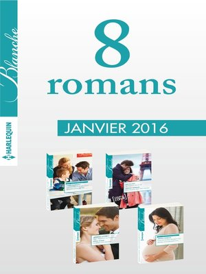 cover image of 8 romans Blanche (n°1250 à 1253--janvier 2016)