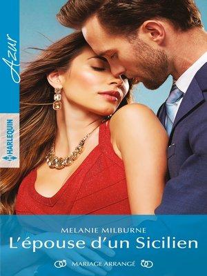 cover image of L'épouse d'un Sicilien
