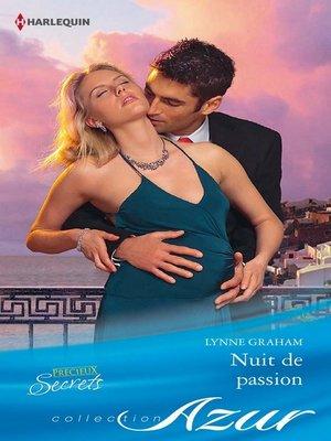 cover image of Nuit de passion