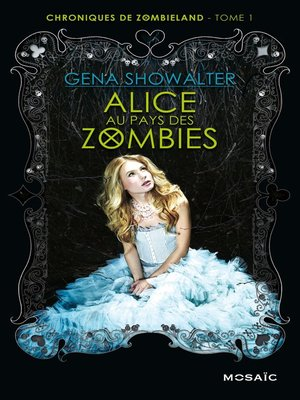 cover image of Alice au pays des zombies