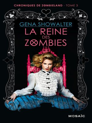 cover image of La reine des zombies