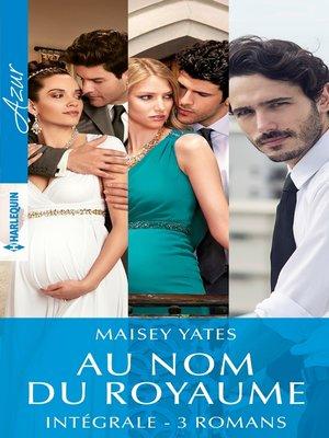 """cover image of Intégrale de la série """"Au nom du royaume"""""""