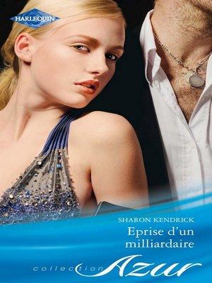 cover image of Eprise d'un milliardaire