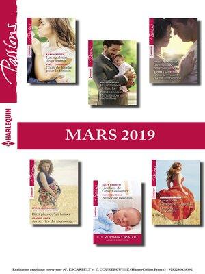 cover image of 12 romans Passions + 1 gratuit (n°779 à 784--Mars 2019)