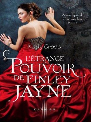 cover image of L'étrange pouvoir de Finley Jayne