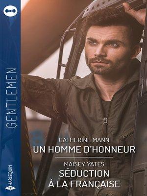 cover image of Un homme d'honneur--Séduction à la française