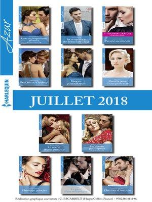 cover image of 11 romans Azur + 1 gratuit (n°3971 à 3981--Juillet 2018)