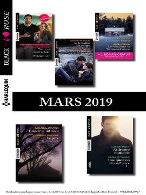 cover image of 10 romans Black Rose + 1 gratuit (n°523 à 527--Mars 2019)