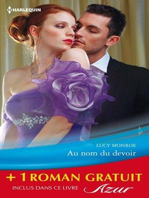 cover image of Au nom du devoir--Un irrésistible patron