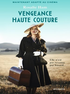 cover image of Vengeance haute couture