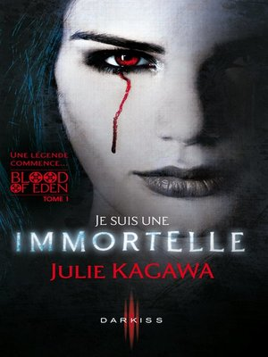 cover image of Je suis une Immortelle
