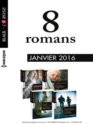 cover image of 8 romans Black Rose (n°370 à 373--janvier 2016)