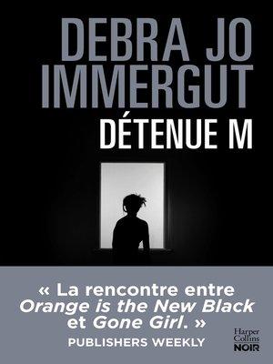 cover image of Détenue M