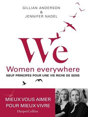 cover image of WE--Neuf principes pour une vie riche de sens