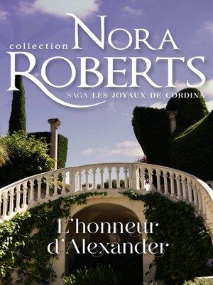 cover image of L'honneur d'Alexander