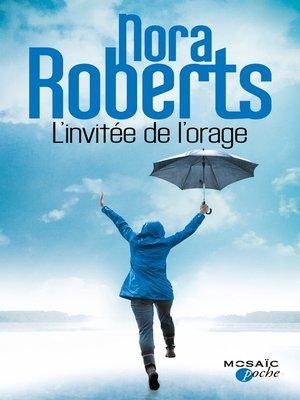 cover image of L'invitée de l'orage