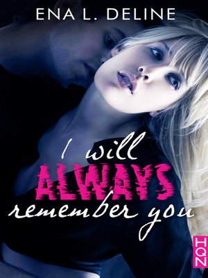 cover image of I Will Always Remember You