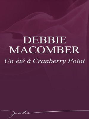 cover image of Un été à Cranberry Point