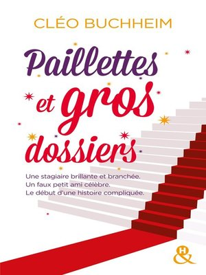 cover image of Paillettes et gros dossiers