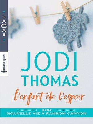cover image of L'enfant de l'espoir