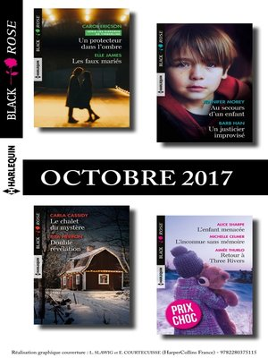 cover image of 9 romans Black Rose n°447 à 449-octobre 2017