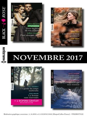 cover image of 8 romans Black Rose + 1 gratuit (n°450 à 453 Novembre 2017)