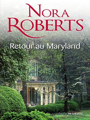 cover image of Retour au Maryland