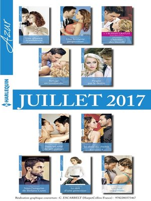 cover image of 10 romans Azur + 1 gratuit (n°3845 à 3854--Juillet 2017)