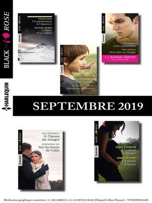 cover image of 10 romans Black Rose + 1 gratuit (n°550 à 554--Septembre 2019)