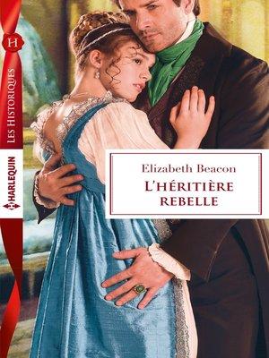 cover image of L'héritière rebelle