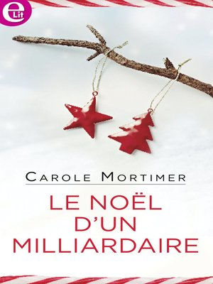 cover image of Le Noël d'un milliardaire