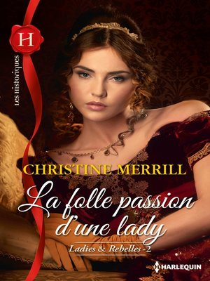 cover image of La folle passion d'une lady