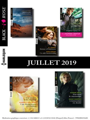cover image of 10 romans Black Rose + 1 gratuit (n°541 à 545--Juillet 2019)